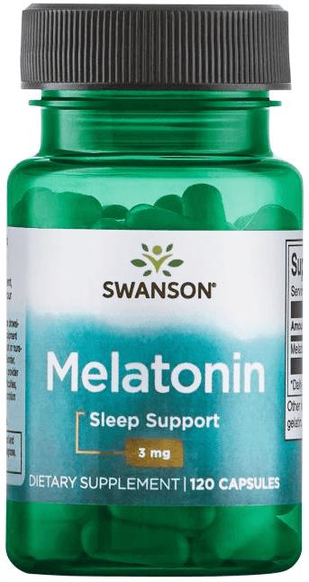Swanson Premium Melatonin – 3 mg/ 120 Caps