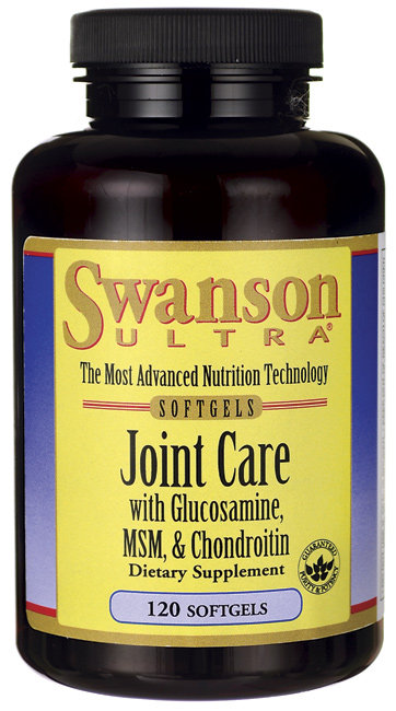Swanson Ultra Glucosamine,MSM,Chondroitin/ 120 Sg