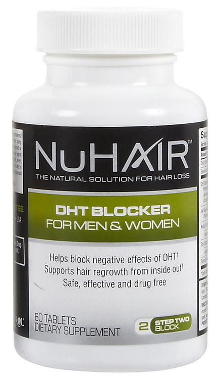 NuHair - DHT Blocker For Men & Women - 60 Tablets