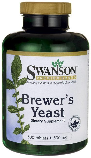 Swanson Premium Brewer's Yeast 500 mg/ 500 Tabs