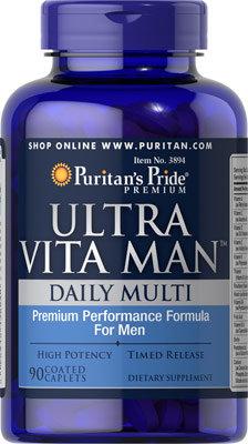 Puritan's Pride Ultra Vita Man™/ 90 Caplets