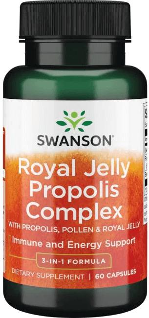 Swanson Royal Jelly Propolis Complex/ 60 Caps
