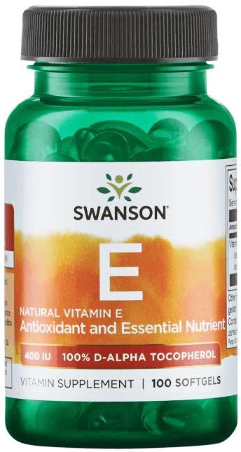 Swanson Natural 100% Vitamin E 400 IU/ 100 Sgels
