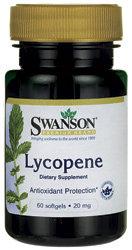 Swanson Premium Lycopene 20 mg/ 60 Sgels