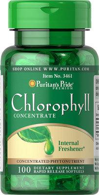 Puritan's Pride Chlorophyll 50 mg / 100 Softs