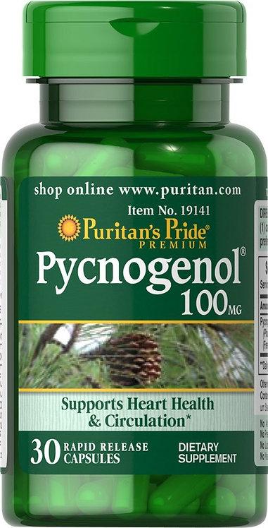Puritan's Pride Pycnogenol® – 100 mg/ 30 Capsules