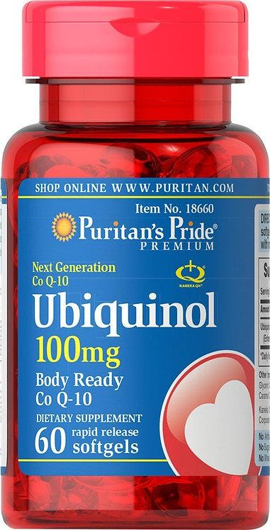 Puritan's Pride Ubiquinol 100 mg/ 60 Softgels