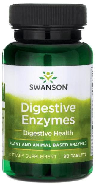 Swanson Premium Digestive Enzymes 90 Tabs