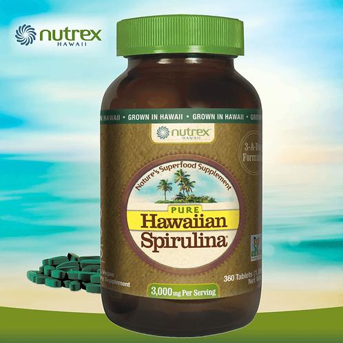 Nutrex Hawaii Spirulina 3000 mg/ 360 Tablets