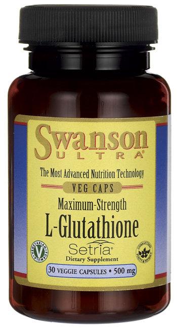 Swanson Ultra L-Glutathione 500 mg/ 30 Caps