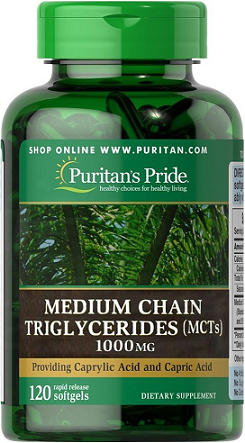 Puritan's Pride Medium Chain Triglycerides (MCTs)