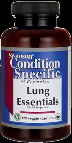 Swanson Formulas Lung Essentials/ 120 Veg Caps