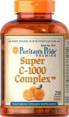 Puritan's Pride Super C-1000 Complex™/ 250 Caplets