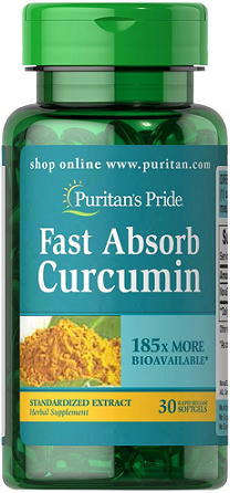 Puritan's Pride Fast Absorb NovaSOL® Curcumin