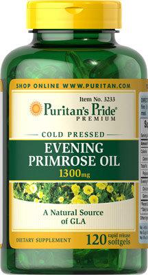 Puritan's Pride Evening Primrose w/ GLA 120 Softs