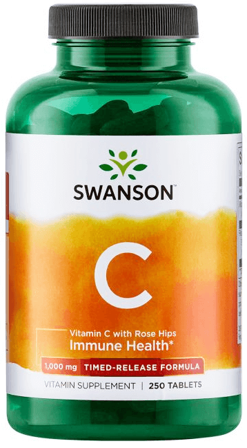 Swanson Timed-Release Vitamin C 1000 mg/ 250 Tabs