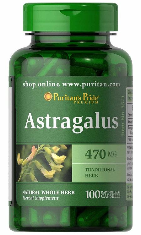 Puritan's Pride Astragalus 470 mg/ 100 Capsules