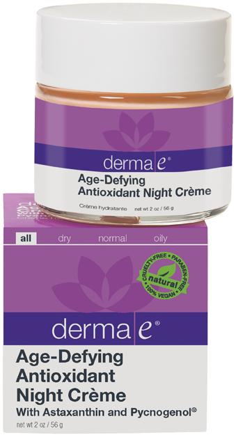 Derma E® Night Créme Astaxanthin & Pycnogenol