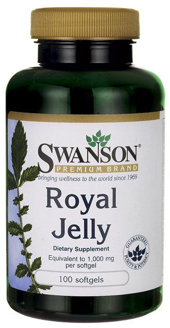 Swanson Premium Royal Jelly-1,000 mg 100 Sgels