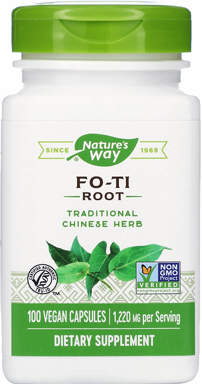 Nature's Way Fo-Ti Root 610 mg/ 100 Caps