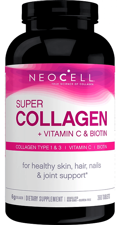 NeoCell Super Collagen+C with Biotin/ 360 tablets
