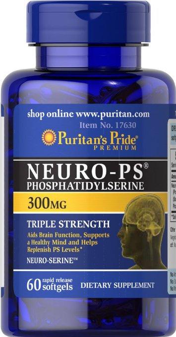 Puritan's Pride Neuro-PS 300 mg/ 30 Softgels