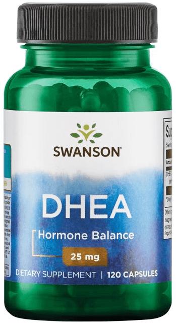 Swanson Premium DHEA 25 mg/ 120 Caps