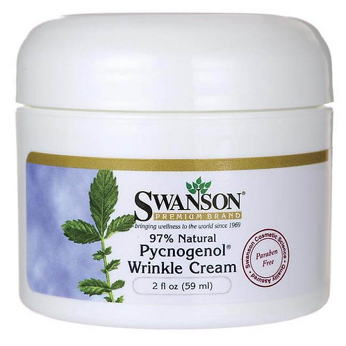 Swanson Premium Pycnogenol Wrinkle Cream 2 oz. (59 ml)