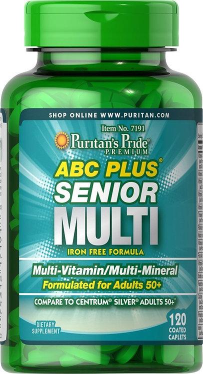Puritan's Pride ABC Plus® Multivitamin/120 Caplets
