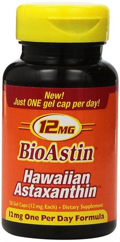 Nutrex Hawaii BioAstin Astaxanthin-12 mg 50 Gcaps