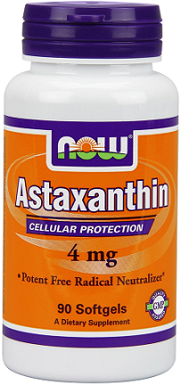 NOW® Foods Astaxanthin 4 mg/ 90 Softgels