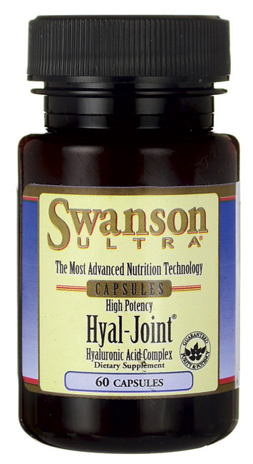 Swanson Hyal-Joint Hyaluronic Acid 83 mg/ 60 Caps