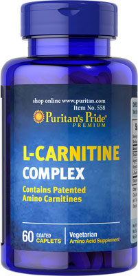 Puritan's Pride L-Carnitine Complex 60 Caplets