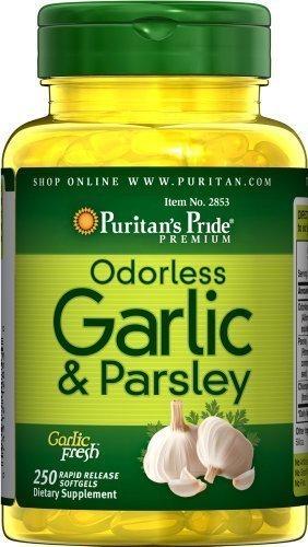 Puritan's Pride Odorless Garlic & Parsley/ 250 Sg