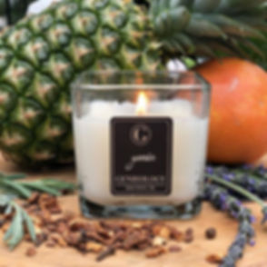 """genie""_A rich and complex blend of vanilla, musk and sandalwood accompanied by clove, jasmine, lave"