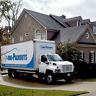 one of our trucks at a home