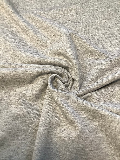 Grey Marl Fleece Backed Sweatshirt