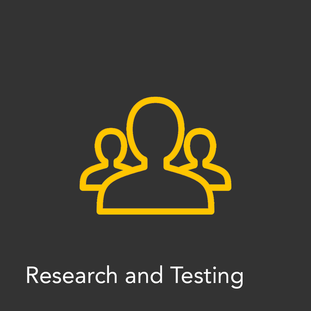 Research and Testing