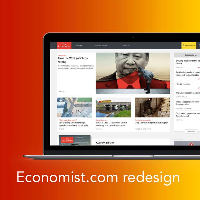 Economist.com Redesign
