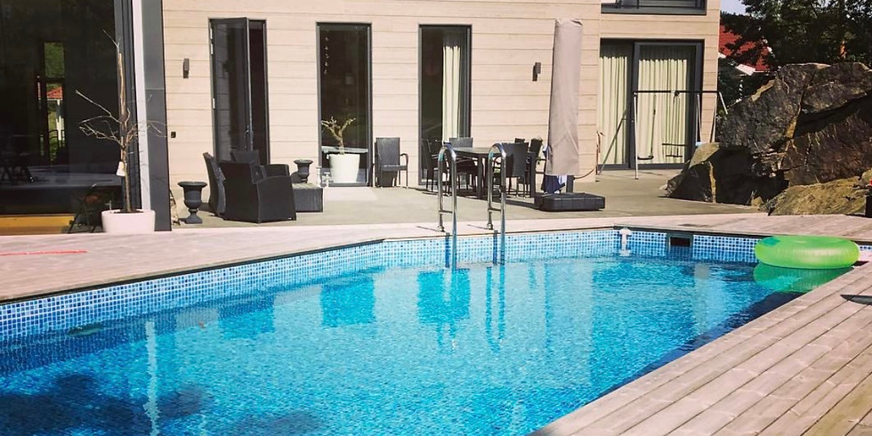 Pool Side Yoga