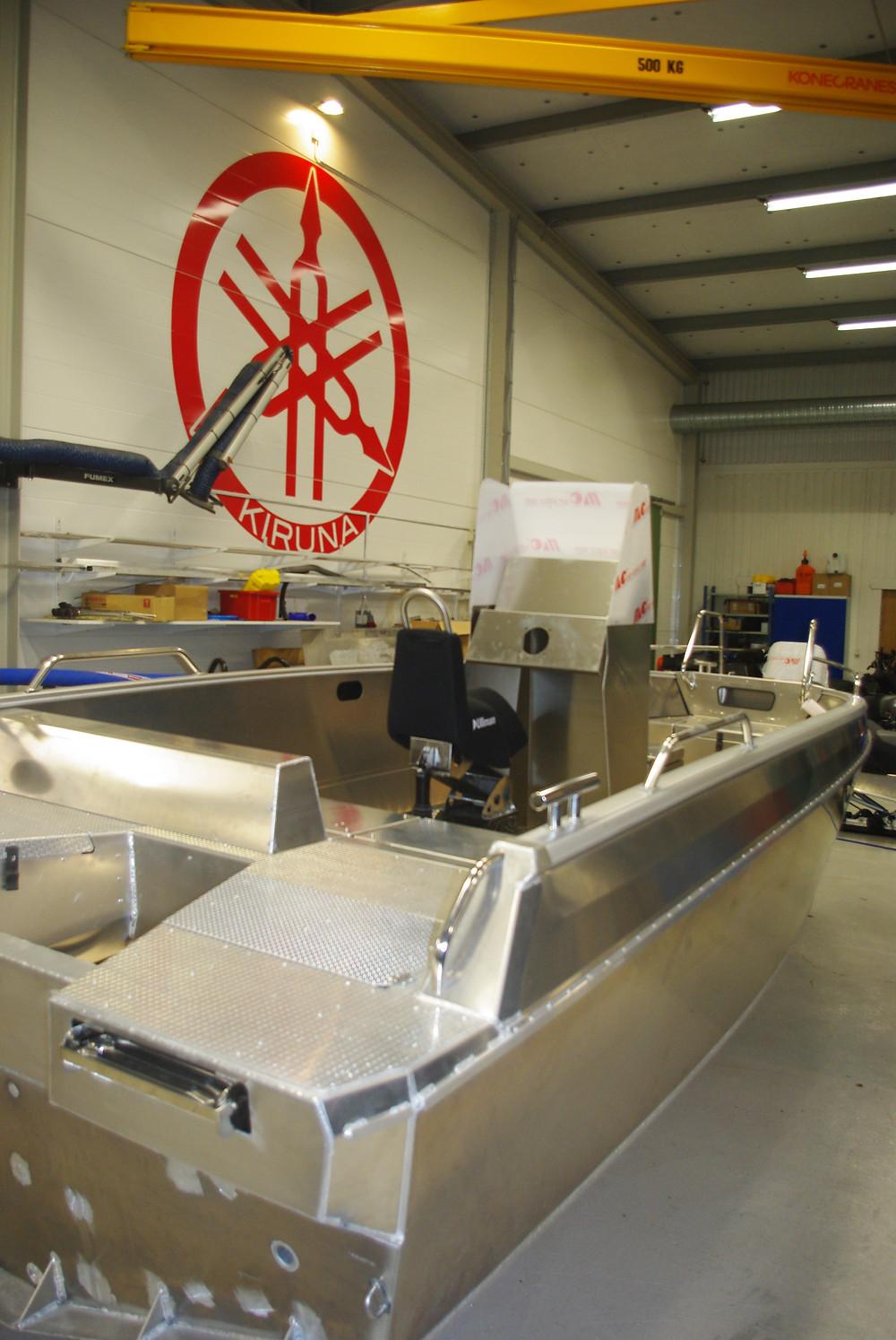 Nordic Rescue SAR/FIRE XL boat