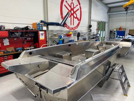 2021 års brand båt är på gång