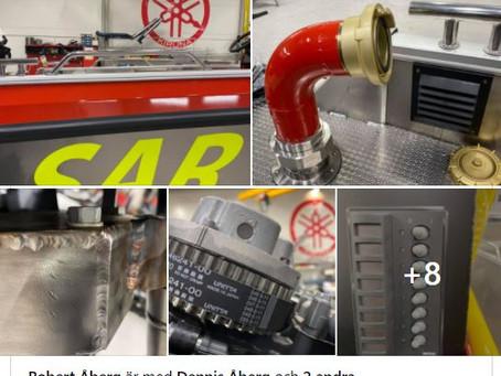 2021 års SAR-FIRE XL snart klar för visning. Tills dess kolla in bilder på FB