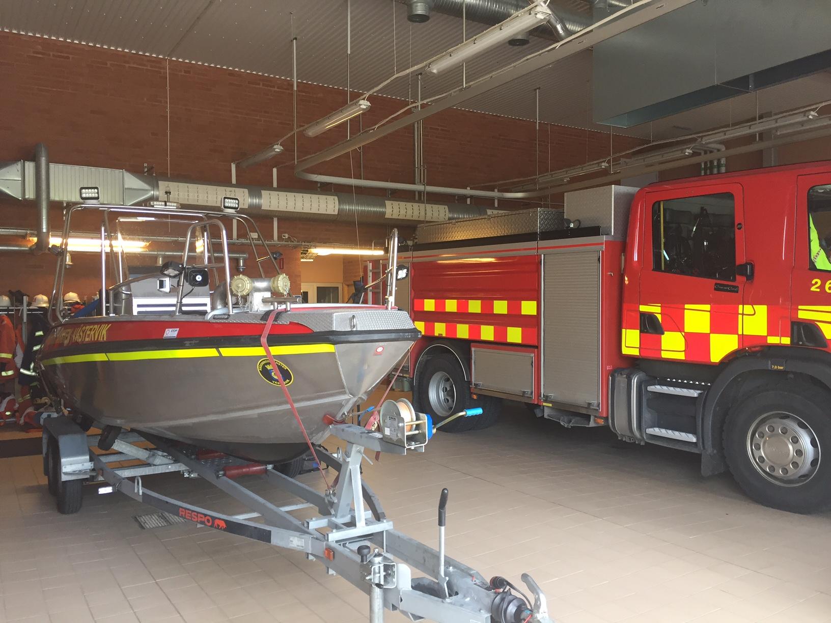 Vagnhallen Loftahammar brandstation