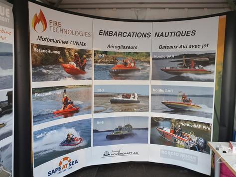 På mässa med www.firetechnologies.fr,