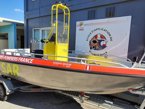 Nordic rescue SAR på långtest hos räddningsdykarna i Frankrike