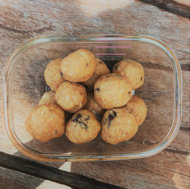 Cookie Dough Bombs