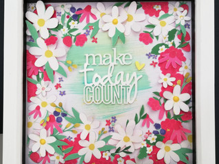 Make today count - wall art!