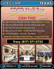 Việc Làm - Coco Nail Bar (Midlothian, TX