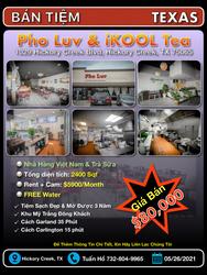 Bán Tiệm - Pho Luv & IKOOL Tea (Hickory